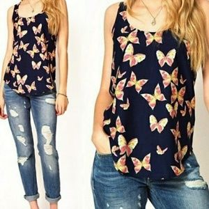 Butterfly Cami/Tank